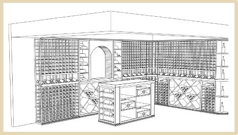 3D-wine-cellar-drawing