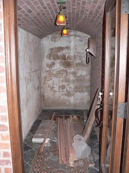 Kapur's Empty Cellar Before Work Commenced